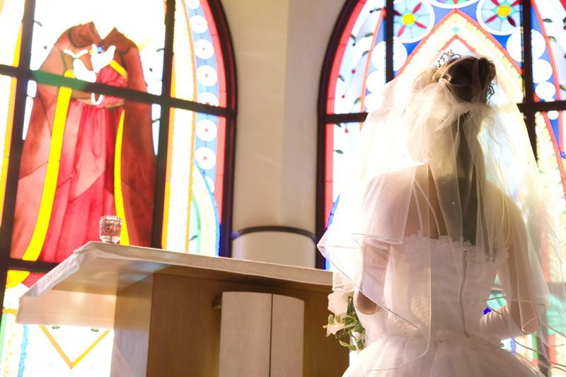 教会 花嫁